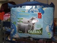 Одеяло (143x205)1,5 спальное облегченное, овечья шерсть